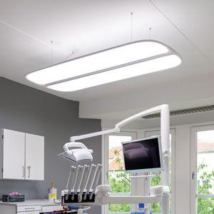 éclairage d'hôpital / plafonnier / pour cabinet dentaire / à LED