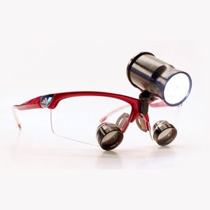 lampe frontale pour loupe binoculaire