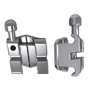 bracket orthodontique en métal
