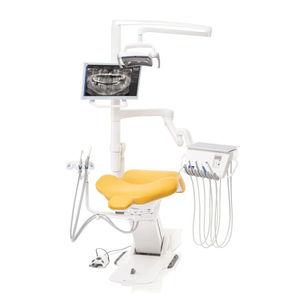 unité dentaire avec fauteuil électrique / avec moniteur / avec éclairage LED / compacte