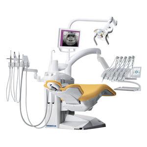 unité de soin dentaire avec moniteur