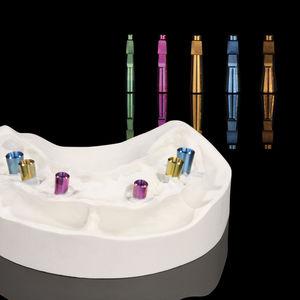 analogue d'implant dentaire en titane