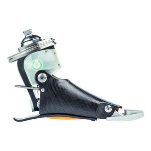 prothèse externe de pied contrôlée par microprocesseur