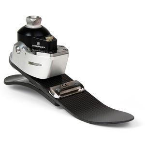 prothèse externe de pied à réaction dynamique / hydraulique / 3 / pour la marche