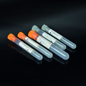 tube de prélèvement pour analyse de la glycémie