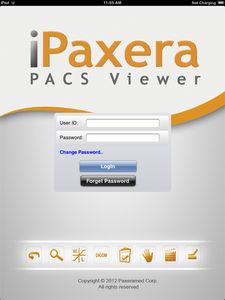 application iOS pour PACS