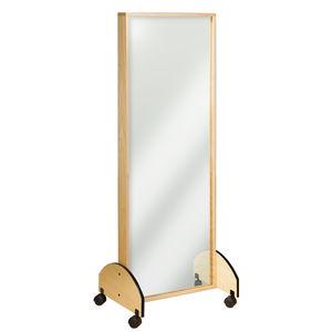 miroir de kinésithérapie sur roulettes