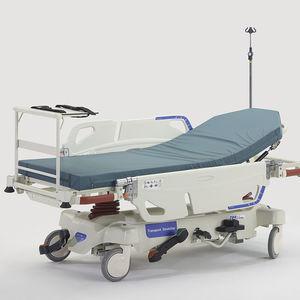 brancards d'urgence / pour ambulances / avec dossier réglable / à hauteur variable