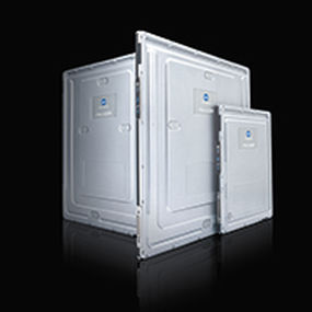 capteur plan pour radiographie polyvalente / portable / à réseau sans fil / étanche