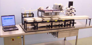 convoyeur pour laboratoires