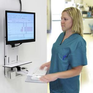 station de travail informatique médicale
