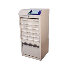 armoire automatisée de distribution de médicaments / pour pharmacie / de ravitaillement / à écran tactile