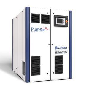 compresseur d'air médical / sans huile / à vis