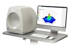 électrorétinographe avec électro-oculographe / avec monitorage des potentiels évoqués