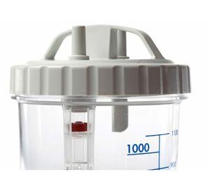 bocal pour aspirateur médical