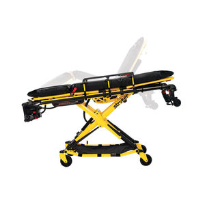 chariot brancard pour ambulances / électrohydraulique / à hauteur variable / 3 plans