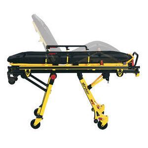 chariot brancard pour ambulances / manuel / à hauteur variable / à plateau amovible