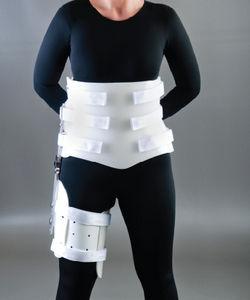 orthèse de hanche / articulée