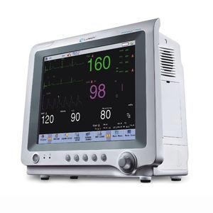 moniteur multiparamétrique ECG / de respiration / de température / PNI