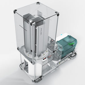étiqueteuse pour tubes de laboratoire / automatique / de code-barres