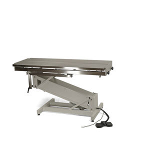 table chirurgicale vétérinaire / électrique / à hauteur variable / basculante