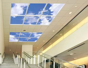 panel LED avec animation graphique