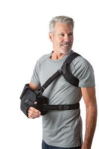 écharpe d'épaule avec coussin d'abduction d'épaule