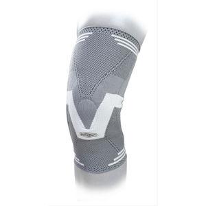 bandage de maintien du genou / avec coussinet rotulien
