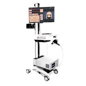 dermatoscope vidéo / LED blanche / LED UV / pour PC