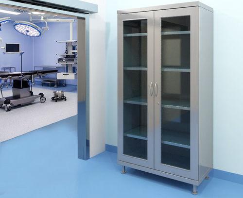 armoire de rangement / pour instruments / de médicaments / pour produits chimiques