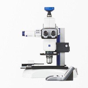 stéréomicroscope pour la biologie / optique / à fluorescence / motorisé