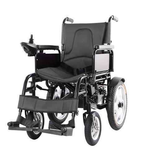 fauteuil roulant électrique / d'exterieur / d'intérieur / avec repose-jambes
