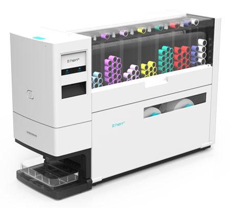 système d'étiquetage pour tubes de laboratoire / automatique