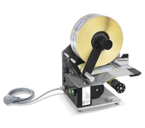 étiqueteuse électrique / manuel / d'étiquettes adhésives / de table