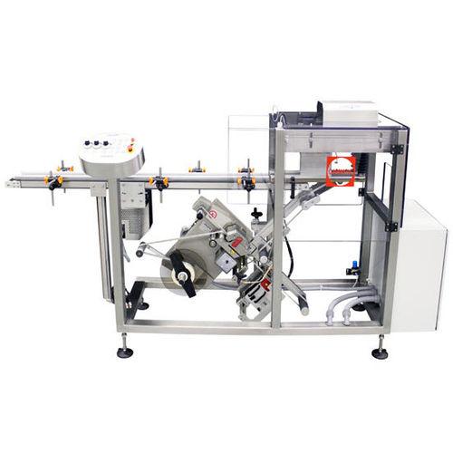 machine d'étiquetage de bouteilles / pour flacon / à pression