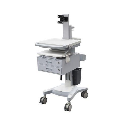chariot d'ordinateur médical