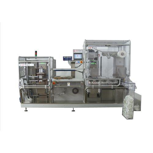 machine d'emballage automatique / sous blister / pour comprimés / pour gélules