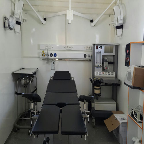 clinique mobile de remorque - AmbulanceMed