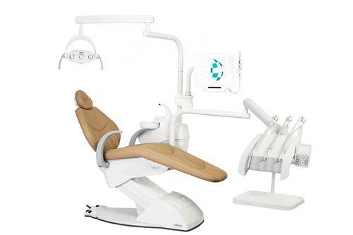 unité dentaire avec éclairage