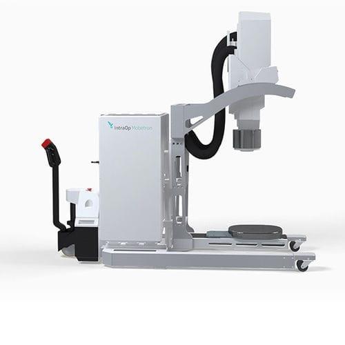 système de radiothérapie peropératoire faisceau d'électrons / traitement du cancer du pancréas / traitement du cancer du sein / mobile