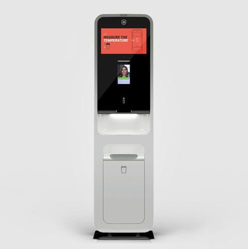 station d'hygiène avec mesure de la température - Vacu Activ
