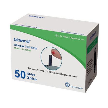 bandelette de test pour le diabète