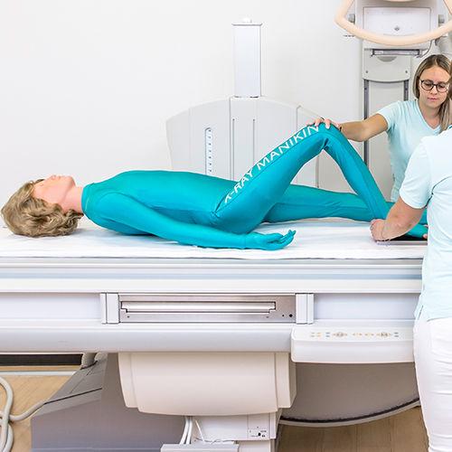 fantôme de test pour radiographie / corps entier
