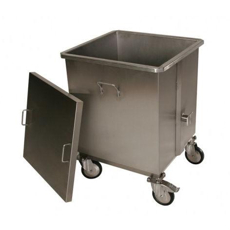 poubelle en acier inoxydable