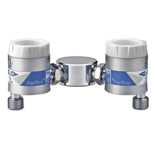 débitmètre d'oxygène / d'air / à prise / double