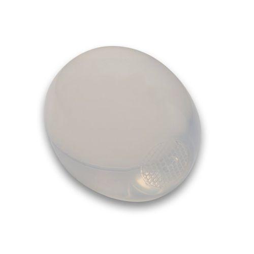 implant testiculaire / anatomique / gel de silicone / lisse