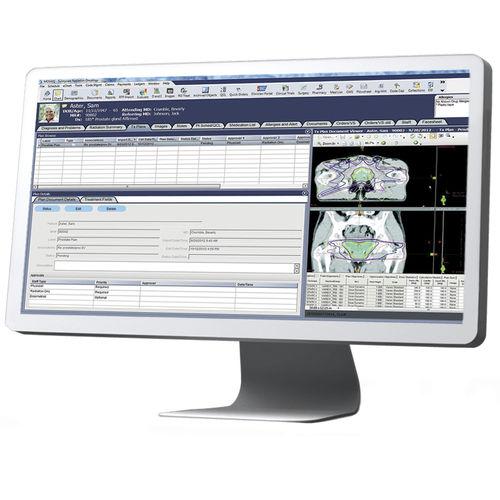 système de gestion de données patient / de l'information / pour service d'oncologie / médical