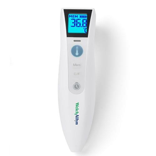 thermomètre médical / à infrarouge / frontal / à réseau sans fil
