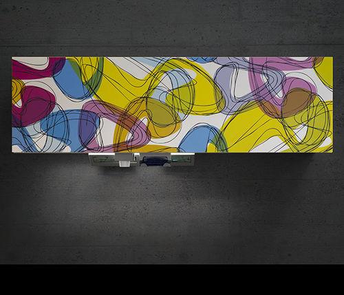 armoire murale / de rangement / de distribution / pour consommables