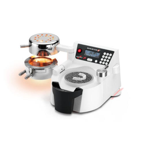 machine de thermoformage automatique / sous pression / pour laboratoires dentaires / benchtop
